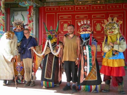 Буддийская церемония Цам. Улан-Батор.