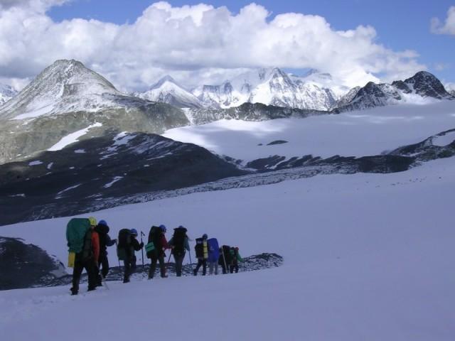 ледник Иолдо (сверху)