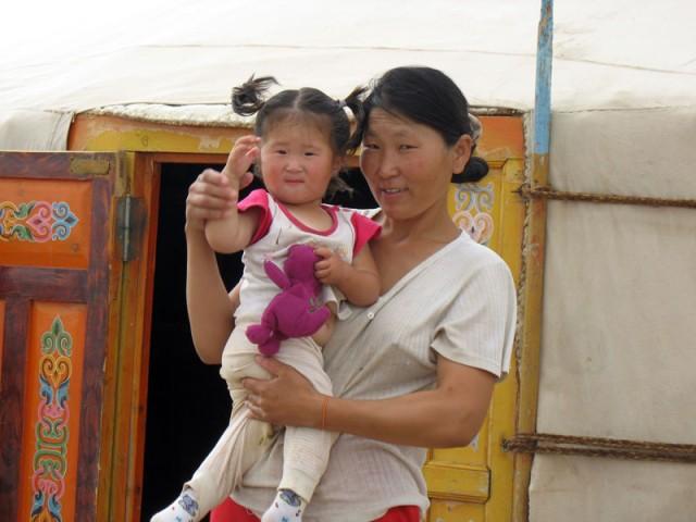 Люди Монголии