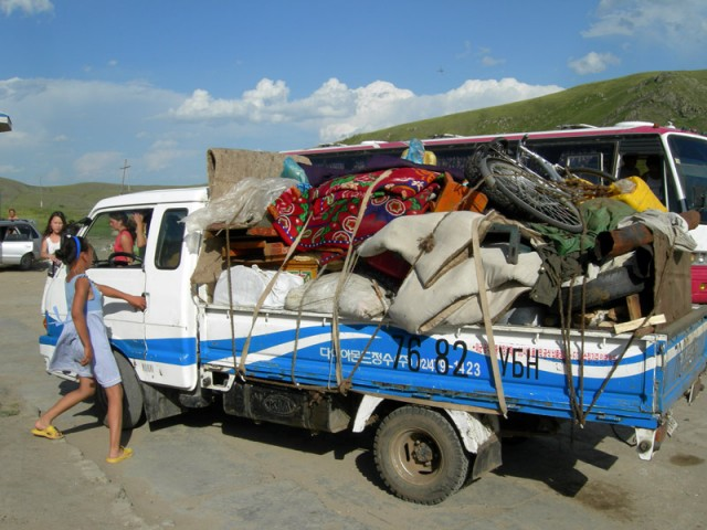 Монголия: юрта