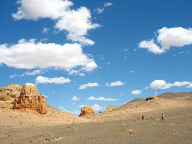 Крайняя точка нашего путешествия по Монголии: каньон Хермен-Цав