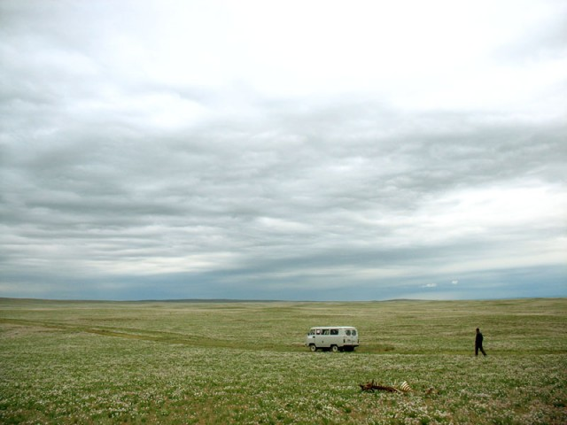 Среди монгольской степи