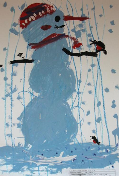 Снеговик, Санников Петя