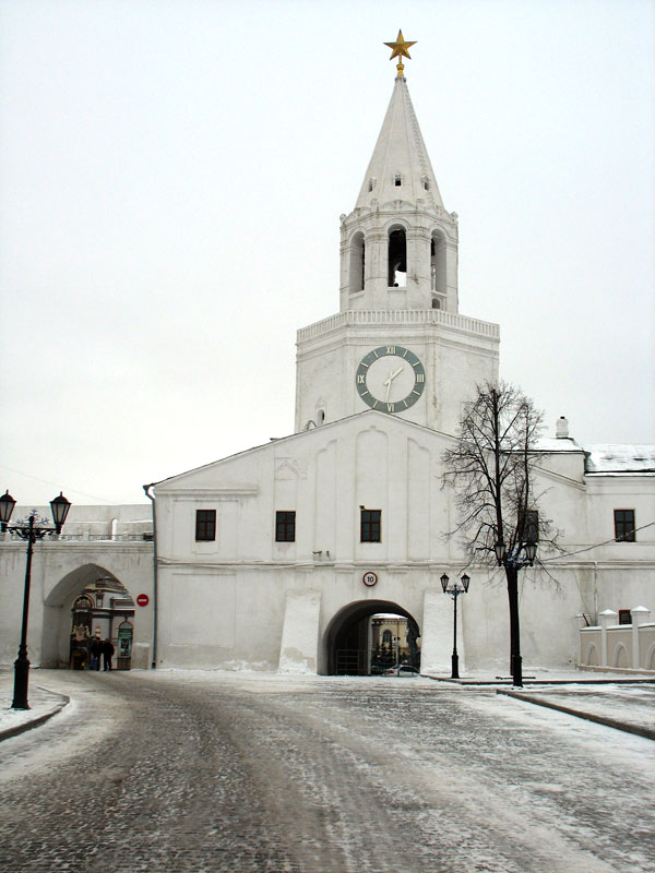 Спасская башня Казанского Кремля