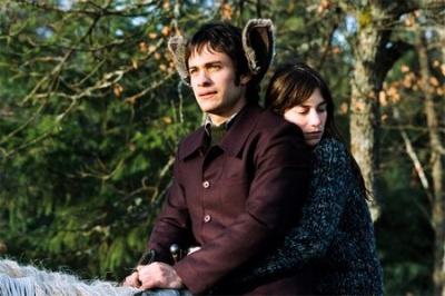 """Он и Она, кадр из фильма """"Наука сна"""""""
