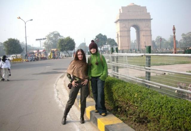 Индийские ворота.