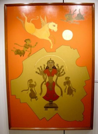 Современное индийское искусство