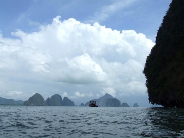 Морские пейзажи провинции Пханг Нга