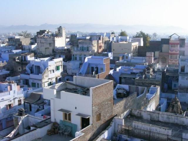 Голубостенный Удайпур.