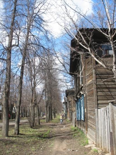 Деревянный Сарапул