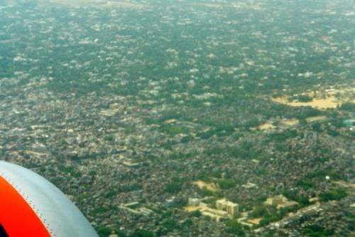 Пролетаем над Дели