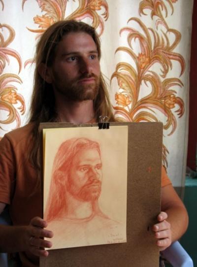 Портрет и Даниэл собственной персоной