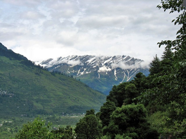 Гималаи сегодня утром