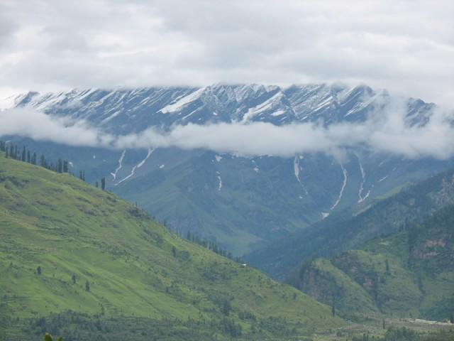 Гималаи в сезон дождей
