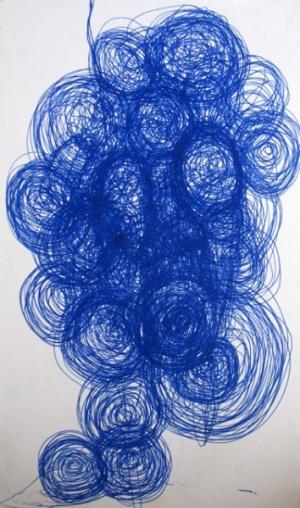 много раз встречала эти круги на рисунках Ротем, видимо, какая-то любимая тема