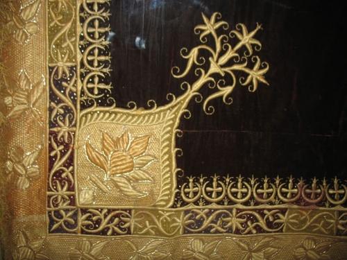 Фрагмент царского ковра