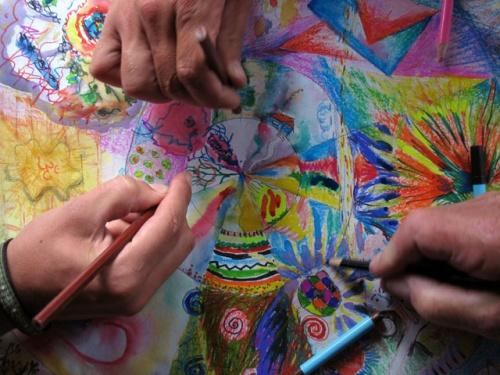 Рисуем мандалу