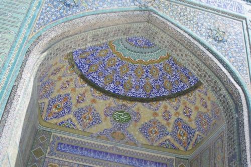 Старинная мечеть в Мазаре