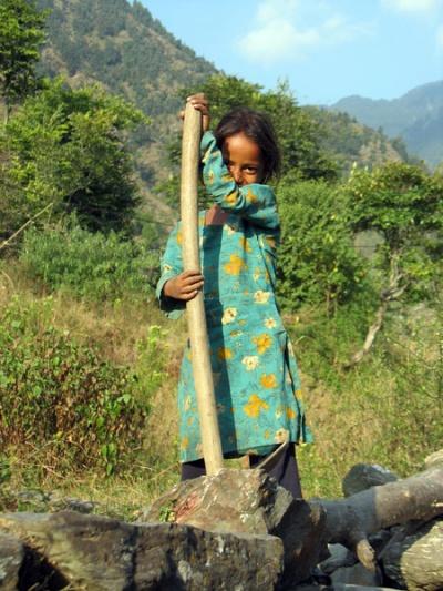 Девочка из Гималаев