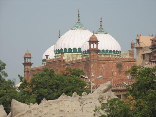 Мечеть на месте явления Кришны