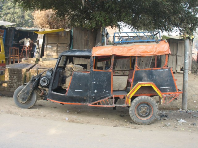 Вымирающий вид транспорта - темпо