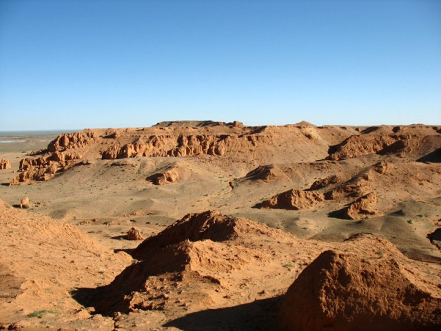 В Баянзаге. Пустыня Гоби, Монголия