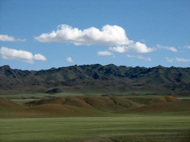 Монгольские просторы