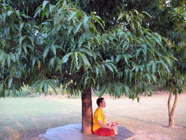 Медитации в Лумбини...