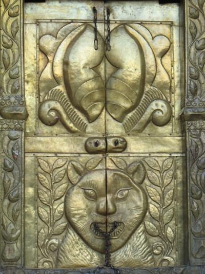 Храм в ПалпеИндуистский храм-пагода Вишну в Палпе...