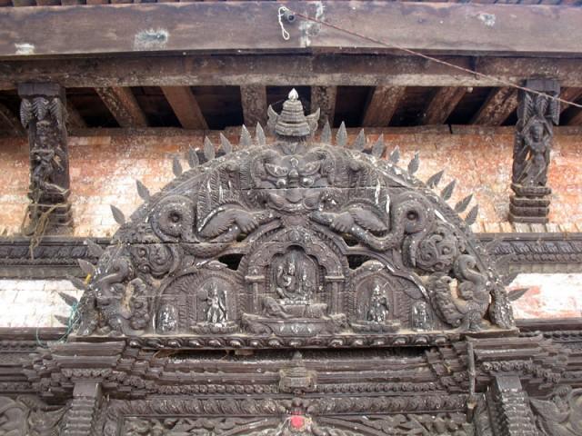 Индуистский храм-пагода Вишну в Палпе...
