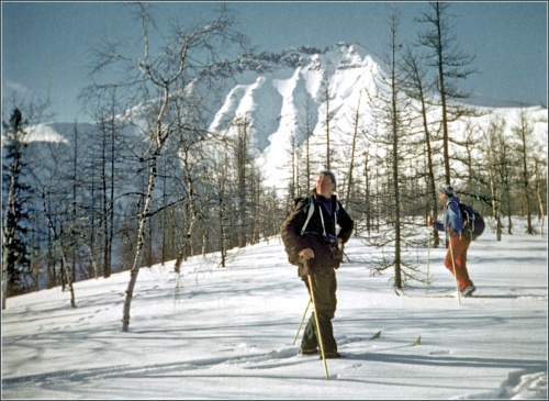 мы с ним там уже бывали в лыжном походе