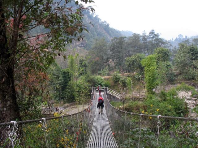 Первый подвесной мост