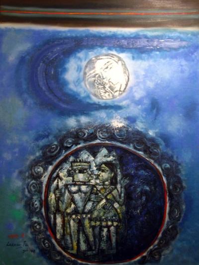 Лунное путешествие (Moontravel) - эта картина понравилась мне больше всего