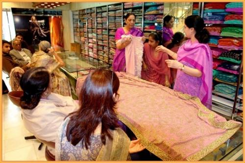 Как меня очаровал этот магазин, где продают сари!