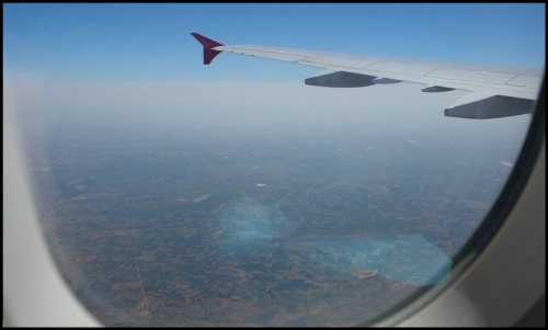 Летим над Карнатакой