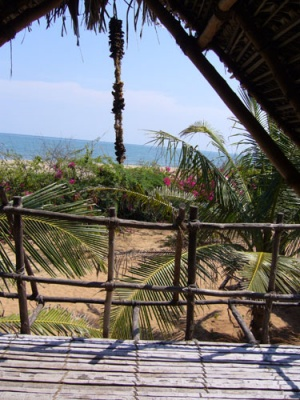 Бунгало с видом на море.