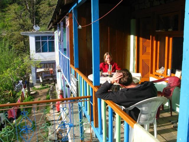 Фото дня: Наша терраска в Гималаях