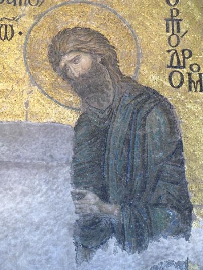 Христианские лики, Айя-София, Стамбул