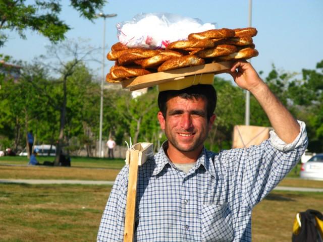 Продавец бубликов, Стамбул