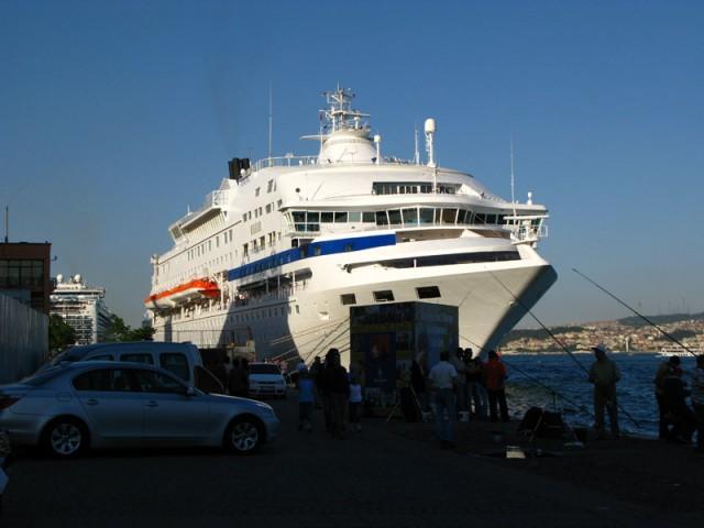 Мы пришли сегодня в порт!