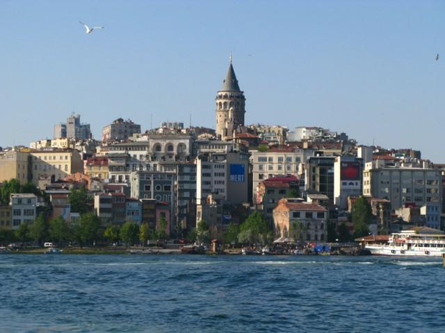 Галатская башня, Стамбул, Турция