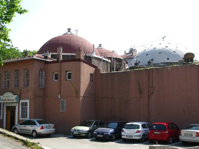 Турецкая баня, вид снаружи