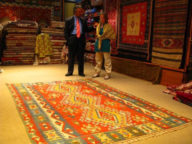 В лавке продавца ковров, Стамбул