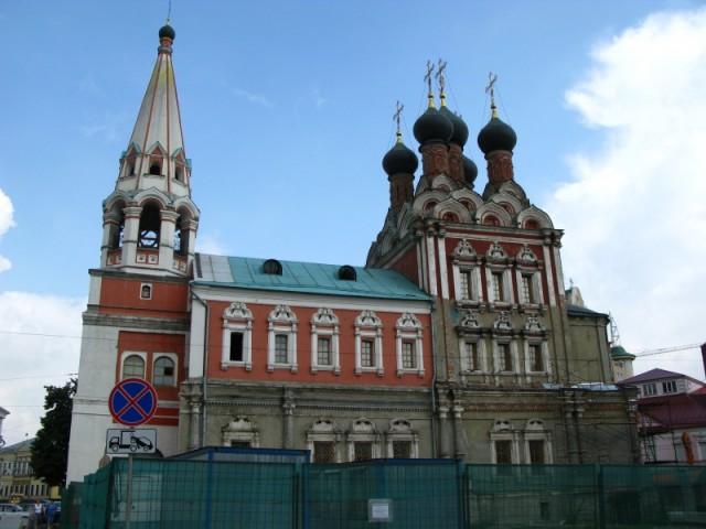 Церковь Святого Николая на Болвановке