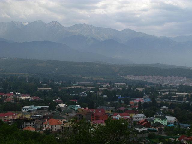 Алма-Ата сверху