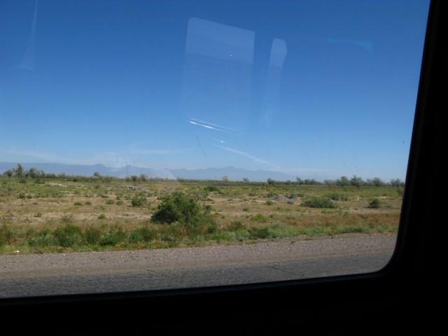 По дороге из Алма-Аты в Каньон Шарын (Чарынский Каньон)