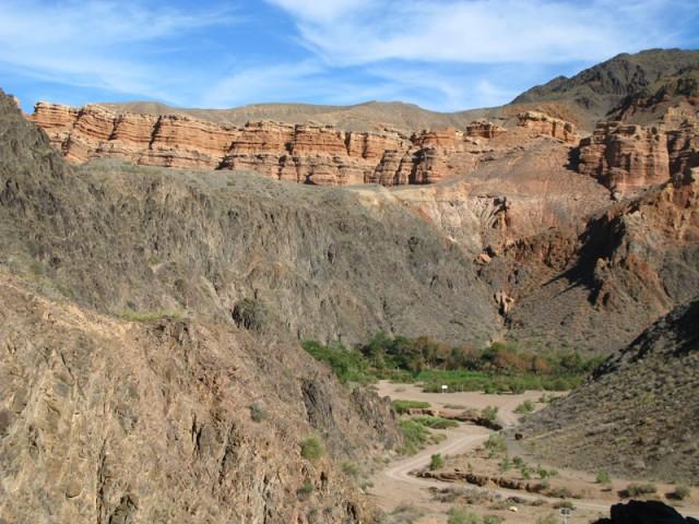 Каньон реки Чарын (Шарын)
