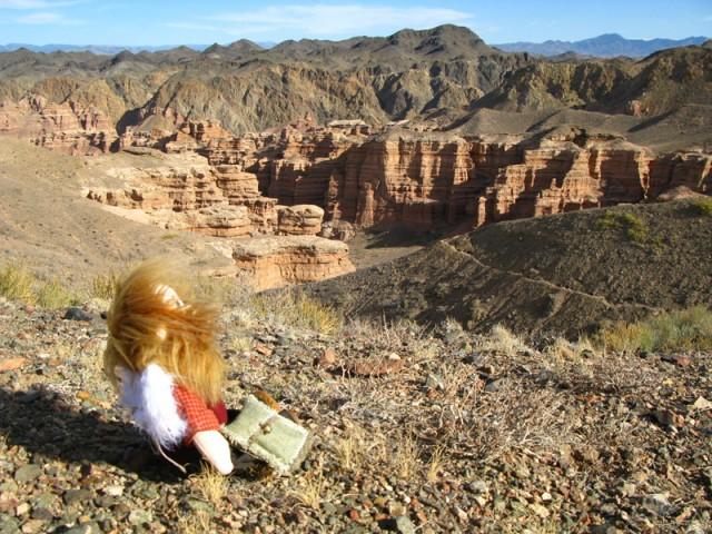 Вглубь каньона Чарын
