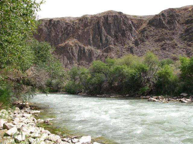 Река Чарын (Шарын)