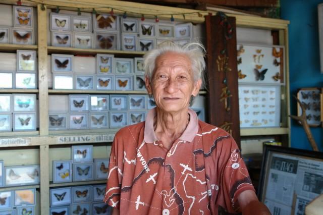 самый старый энтомолог Вьетнама